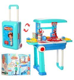Доктор 008-925 (8шт) 2в1 (стіл 53-24,5-63см, чемодан), мед.інстр, в кор-ке, 39,5-30-14см