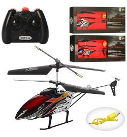 Р/У Вертолет FQ777-S390 (12шт) аккум,гироскоп,28см,3,5 канала,USBзарядн,свет,3цв,в кор-ке,50-18-7см