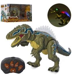 Динозавр F191 (12шт) р/у, 50см, звук,свет,пар, ходит, на бат-ке, в кор-ке, 49-26,5-17см