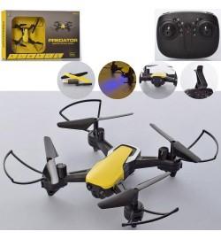 Квадрокоптер LC999-X8W (8шт) р/у, аккум,21см,свет,камера,зап.лоп, USBзар, в кор-ке, 40-24-5,5см