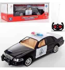 Машина TC-125P (36шт) р/у, полиция, 1:18, 24см, свет, на бат-ке, в кор-ке, 31-10-12,5см