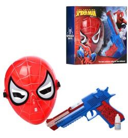 Набір зі зброєю 236-21A (36шт) СП, пістолет 23см-дим, звук, світло, на бат-ке, маска, в кор-ке, 31-26-7см