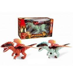 Інтерактивна тварина 60095 (24шт / 2) Дракон, світло, звук, рух., В коробці 37 * 15 * 21 см