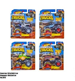 МАШИНКИ HOT WHEELS MONSTER TRUCK 3012 хот вілс