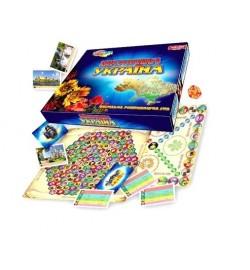 Викторина Украина (НОВАЯ версия)  Игры в гофрокоробке 0994 настольная игра