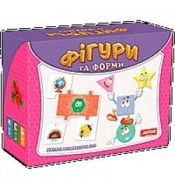 Фигуры Развивающие игры премиум в гофрокартонной коробке 0581 настольная игра