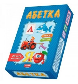 Абетка (новая)  Премиум Пазлы логические 0529 настольная игра