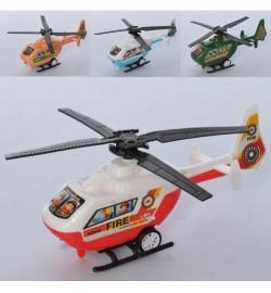 Вертоліт 168-1Q (600шт) інер-й, 14см, рухливі лопаті, 6відов, в кульку, 14-7-4см