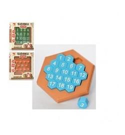 Игра 11-12-13 (90шт) головоломка, 3 вида, в коробке, 15-15-2,5см