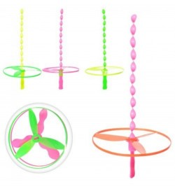 Вертушка 6979E (500шт) 2шт, 13см, мікс кольорів, в кульку, 23-22-2см