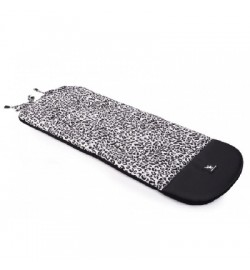 Матрас в коляску Cottonmoose Leather 590/153/109 pantera gray cotton (серый леопардовый, черная эко
