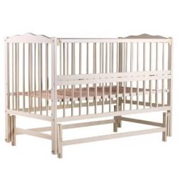 Ліжко Babyroom Веселка маятник, відкидний бік DVMO-2 бук слонова кістка