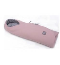 Конверт в коляску и автокресло Cottonmoose ODWF 439/113/49 powder pink cotton jersey melange cotton