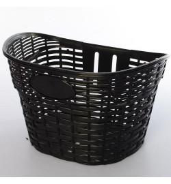 Кошик для велосипедів AS1907 (1шт) для 12-16д, пластик, розмір 26-17-20см, чорний