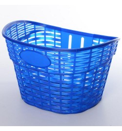 Кошик для велосипеда AS1909 (1шт) для 12-16д, пластик, розмір 26-17-20см, синій
