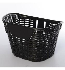 Кошик для велосипедів AS1910 (1шт) для 18-20д, пластик, розмір 26-17-19,5см, чорний