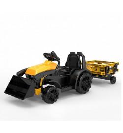 Электромобиль T-7317 YELLOW трактор на Bluetooth 2.4G Р/У 6V4.5AH мотор 1*20W 114*42.5*43 /1/