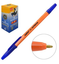 Ручка кулькова CL Korvina синя ST02243 (4000шт)