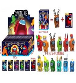 Іграшка DS2434 (864шт / 2) герої 3-3,5 '+ 1 картки в коробці 7 * 4 * 10 см, 12 видів, 24 шт в диспл
