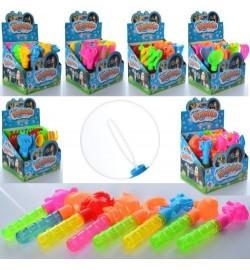 Мильні бульбашки 2059-304-1-2-3-6-7 (576шт) 16см, 6 видів, 24шт в дисплеї, 18,5-17,5-15см