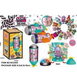 Герої NC2425 (96шт/2) 2 кольори капсул, 12 видів лялечок + аксесуари, капсула откривется і світитьс