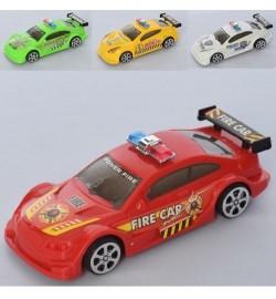 Машина 729-51A (360шт) инер-я, 13,5 см, 4 вида 1в-полиция, 1в-пожарная), в пакете , 6-13,5-4,5см