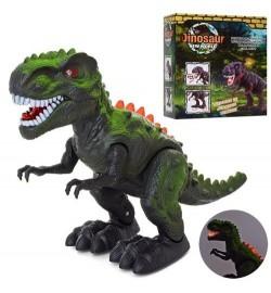 Динозавр 8509 (36шт) 33см, звук, світло, ходить, на бат-ці, в кор-ці, 18-20,5-10см