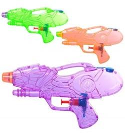 Водяний пістолет M 5394 (192шт) розмір маленький, 21см, 3 кольори, в кульку, 21-12-3см