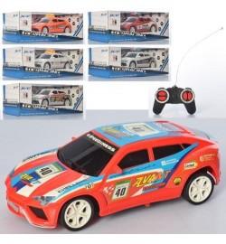 Машина LH890-18-19-20A (48шт) р/к, 17,5см, 1:22,3 види (1вид-поліція), на бат, в коробці, 24,5-9-13
