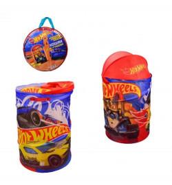 Корзина для игрушек D-3516 (24шт) Hot Wheels, в сумке - 49 * 49 * 3 см, р-р игрушки - 43 * 43 * 60 с