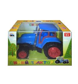 Трактор 0488-1Q (144шт) инер-й, 13,5см, в кор-ке, 14,5-10-8см