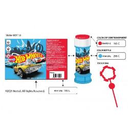 Мыльные пузыри KC-0072 (216 шт)Hot Wheels цена за 1шт, по 36 шт в коробке, 60 мл