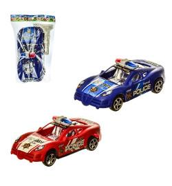 Машина инерц. 259-10 (360шт/2) 2 цвета, в пакете – 13*19 см, р-р игрушки – 15.5*7.5*5.5 см