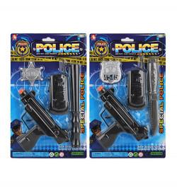 Набор с оружием 2323-23 (192шт) полка, пистолет, рация, 2 вида (дубинка / нож), на письме, 19-31,5-3