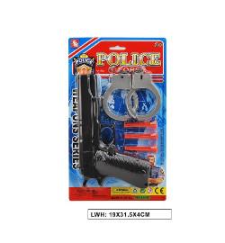 Полицейский набор 2323-21A(192шт/2)на планш. 19*31,5*4см