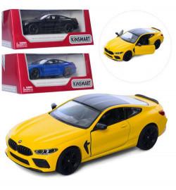 Машинка KT5425W (24шт)  металл, инер-я, 12,5см, двери открыв, резин.колеса, 4цв, в кор-ке, 16-7-8см
