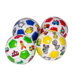 Мяч футбольный BT-FB-0237 PVC размер 2 100г 4 Кол / 100 /