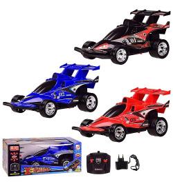 Машина аккум р/у  ZJ23053-1 (60шт/2) X-GALLOP, 3 цвета, в кор. 27*13.5*11 см, р-р игрушки – 21.5*12