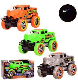 Машина батар. 3699-RA3 (48шт/2) 3 цвета,свет,звук, в кор. 24.5*13.5*13.7 см, р-р игрушки – 22.5*12*