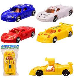 Машина инерц. 6622 (360шт/2) 4 вида,откр.двери,в пакете – 8.5*15 см, р-р игрушки – 12.5*5*3 см