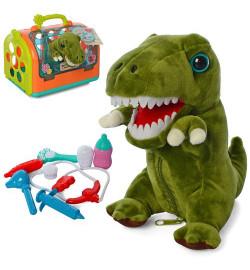 Животное T803-6 (12шт) динозавр16см, доктор, муз,зв,чемодан-переноска,бат-таб,в кульке,25-20-17,5см