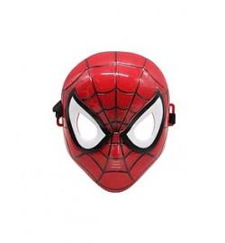 Маска Человек паук  Размер маски 17,5*21 см