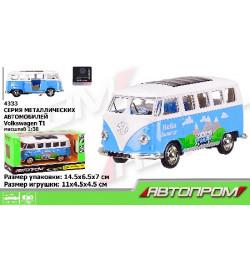 Автобус металл 4333 (96шт/2)
