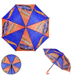 Детский зонт Hot Wheels PL8205  (60шт) полиэстер, р-р трости – 67 см, диаметр в раскрытом виде – 86