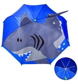 Зонт детский UM2616 (60шт/5)пластик, крепление, р-р трости - 60 см, диаметр в раскрытом виде – 70 с