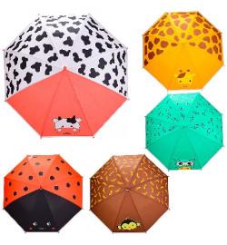 Зонт детский UM5210 (60шт/5) 5 видов, R=50 см