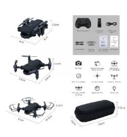 Р.У.Квадрокоптер D83  с камерой, Wi-Fi, FPV.свет.USB.чемодан 21 * 5,5 * 10/48 /