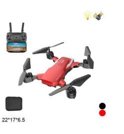 Р.У.Квадрокоптер F85 складной с камерой, Wi-Fi, FPV.свет.USB.чемодан 22 * 6,5 * 17/36 /
