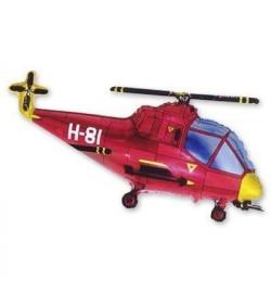 1206-0351 Шарик Ф М / ФИГУРА / 3 Вертолет красный / ФМ