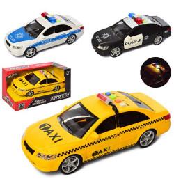 Машина AS-2158 (30шт) АвтоСвіт,инер-я, 1:16, 24см, зв,св, 3в(2в-полиция), бат(таб), в кор,32-19-12с
